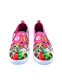 Shopkins 女童一脚蹬帆布鞋