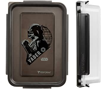 PERFORMA 膳食准备容器 – 易于使用和耐用的食品容器,满足您日常膳食准备的需求(24盎司) Single, Darth Vader