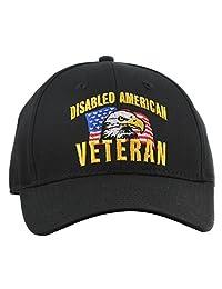禁用美国退伍军帽男女通用军人收藏帽