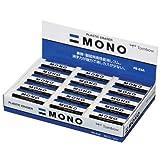 蜻蜓铅笔 橡皮擦 MONO 80尺寸30个 モノPE03 30個