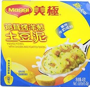 美极鸡茸烤洋葱土豆泥45g