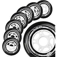直排滑轮 Hyper XTR - 8 轮子 - 84A - 尺寸:84MM、90MM、100MM - 速度滑冰、健身和休闲轮