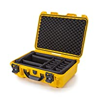 Nanuk 925 Case with Padded Divider (Yellow)