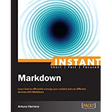 Instant Markdown (English Edition)