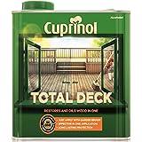 Cuprinol 全副甲板 - 还原木和油脂合一 - 透明 2.5L 和 5升 透明 2.5 l CUPTDC25L