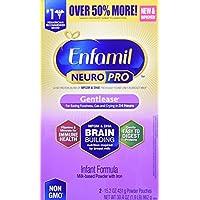 Enfamil Neuropro 温和婴儿配方奶粉 - 经证明可在24小时内减少烦躁、胀气、哭闹 - 补充盒,30.4 盎司