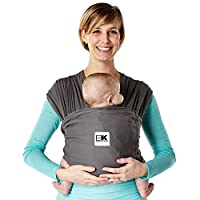 Baby K'tan Breeze Baby Carrier, Charcoal, X-Large