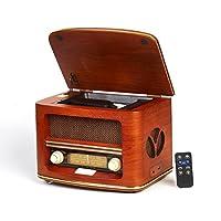 CAMRY CR 1109复古收音机 LW / FM 带 CD / mp3播放器和 USB 端口棕色
