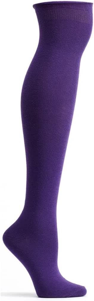 Ozone 女式高领袜 紫罗兰色 One Size