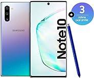 Samsung 三星 Galaxy Note 10 智能手机套装(15.9厘米(6.3英寸)256GB 内部存储器,8GB 内存,Dual SIM,Android)8806090167300 Deutsche Version 256 Aura Glo