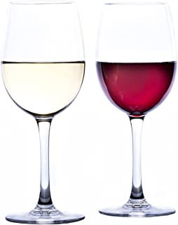 Savona 雅致不易破裂的*杯 * Tritan 塑料*杯 - 室内/室外的理想选择 - 防碎*杯 - 2 件套 透明