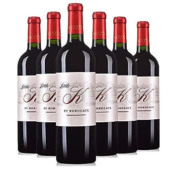 Chateau Kirwan 麒麟酒庄 Little K By Bordeaux 小麒麟波尔多红葡萄酒 750ml*6