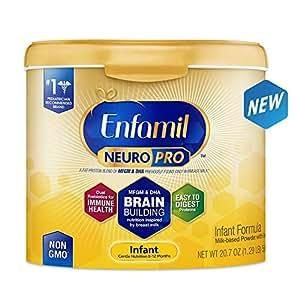 Enfamil 美赞臣 NeuroPro婴儿配方奶粉(0-12个月)(奶粉桶可重复使用)6罐装(587g*6)