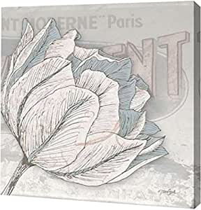 "PrintArt GW-POD-23-DS-SQ-288B-16x16""Saumur Fleur 2"" 由 Diane Stimson 创作画廊装裱艺术微喷油画艺术印刷品 24"" x 24"" GW-POD-23-DS-SQ-288B-24x24"