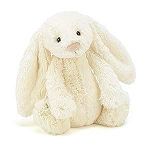 Jellycat 毛绒玩具 BASHFUL害羞系列之邦尼兔 米色小号高18cm