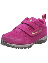 Columbia Girl's Hiking and Walking Shoes, CHILDRENS VENTURE, Pink (Haute Rose/Napa Vert), Size: 8