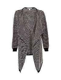 Esprit 孕妇女式开衫针织 LS 提花长袖孕妇开衫