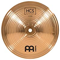 Meinl Cymbals 8 英寸铃铛,低音 – HCS 传统抛光青铜鼓套装,德国制造,2 年质保 (HCSB8BL)