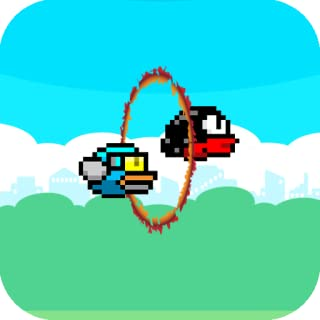 Flappy 2 Circus - Players Cross The Fire Rings