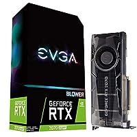 EVGA 08G-P4-3070-KR 显卡 GeForce RTX 2070 SUPER 8 GB GDDR6 显卡(GeForce RTX 2070 SUPER,8 GB,GDDR6,256 位,7680 x 4320 像素,PCI Express 3.0)