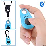 CamKix 智能手机无线蓝牙相机快门遥控器 - 制作令人惊叹的照片和自拍D0616-SR4-BLU Blue Drop