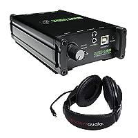 Mackie MDB-USB 立体声 DAC Direct Box 带 R100 立体声耳机(黑色)