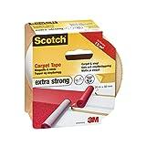 Scotch 双面胶带,透明 白色 50 mm x 20 m 42022050