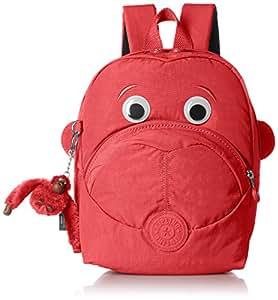 Kipling 爱上周一 女式 背提包 NURIA K0856815A00F 鲜红色组合 21.5x13.5x27cm