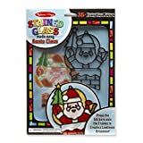 Melissa & Doug 简易制造 - 圣诞老人彩色玻璃
