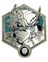 Golden Caesar Anthonio Zeppeli - Jojo's 奇妙冒险收藏胸针