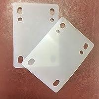 DreamFire 软橡胶立管硅胶减震垫适用于长板滑板,2 件