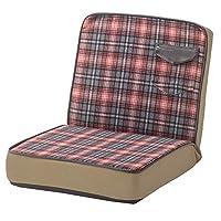 地板椅 红色 本体サイズ:W46×D54-87×H45×SH1 RKC-934RD