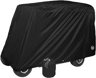 Eevelle GreenLine 4 Passenger Golf Cart Storage Cover - Jet Black