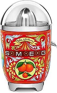 SMEG CJF01DGEU CJF01 柑橘榨汁机 18/8 不锈钢