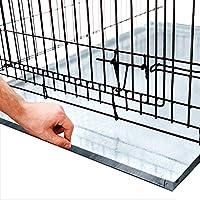 KOPEKS - 重型多功能替换金属托盘 - 镀锌 - 防锈和防裂 - 多种用于宠物箱、油脂陷阱和其他 Metal Tray 24 x 35 Inches