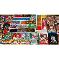 600 个旧复古棒球卡,密封蜡包装,圣诞饰品! TOPPS FLEER DONRUSS 上部台与其它地方!! !