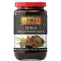 新品上市 Lee Kim Kee 黑胡椒酱 黑椒汁 12.4 盎司(350 克)备用肋骨,炒,烧烤