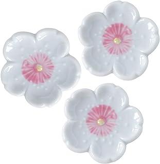 餐具汤匙架 新樱花 白色(中粉色)4.5×4.5cm 3个装