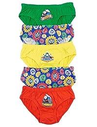 儿童角色 Thomas and Friends 三角裤 一脚蹬内裤 5 件装 2-3 到 5-6 岁