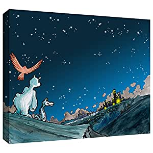 ArtWall Luis Peres 'Polar 4' Gallery-Wrapped Canvas Artwork, 14 by 18-Inch