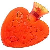 Fashy 小心形状红色透明旅行装热水瓶德国制造,可舒缓和*,*,0.7 升容量
