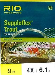 RIO suppleflex 鳟鱼 LEADERS