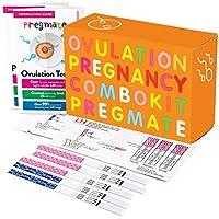PREGMATE Ovulation LH 和 Pregnancy HCG 测试条预测器套装组合 30 LH + 10 HCG 1.00