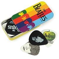 Planet Waves 披头士纪念版条纹吉他拨片锡铁盒 1CAB4-15BT2