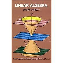 Linear Algebra (Dover Books on Mathematics) (English Edition)