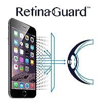 RetinaGuard anti-uv 防藍光屏幕保護膜適用于 iPhone6s Plus / 6?plus?–?SGS & intertek 測試?–?積木 excessive 有害藍色燈緩解**眼