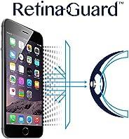 RetinaGuard anti-uv 防蓝光屏幕保护膜适用于 iPhone6s Plus / 6plus–SGS & intertek 测试–积木 excessive 有害蓝色灯缓