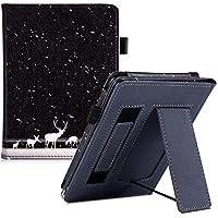BOZHUORUI 全新 Kindle Paperwhite 保护套(* 10 代,2018 年发布,适合所有纸白色一代) - 便携式手持支架保护套,自动休眠/唤醒 Snow Deer