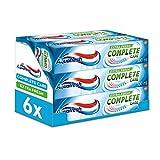 Aquafresh 全套护理牙膏,100 毫升,清新,6 支装
