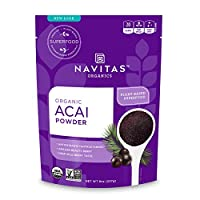 Navitas Organics 巴西莓粉—冻干,无麸质,8盎司/227克 袋装
